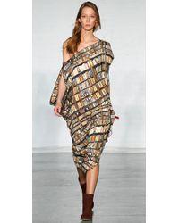 Zero + Maria Cornejo - Multicolor Iq Dress - Lyst