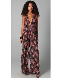 Zimmermann | Multicolor Floral Jumpsuit | Lyst