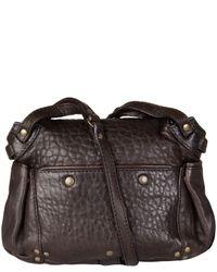 Jérôme Dreyfuss | Brown Twee Mini Leather Bag | Lyst
