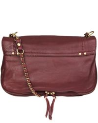 Jérôme Dreyfuss - Red Burgundy Bobi Soft Shoulder Bag - Lyst