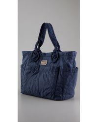 Marc By Marc Jacobs - Blue Pretty Nylon Eliz-a-baby Bag - Lyst