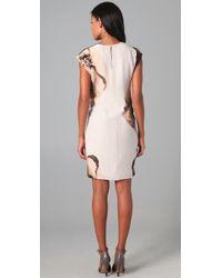 Robert Rodriguez | Brown Clematis Print Dress | Lyst