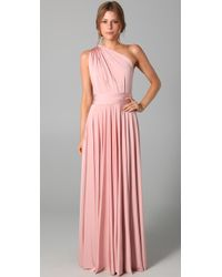 Twobirds | Pink Long Convertible Dress | Lyst