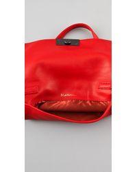 3.1 Phillip Lim - Brown Lynus Mini Envelope Leather Shoulder Bag - Lyst