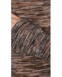 A.L.C. - Brown Long Sweater-dress - Lyst