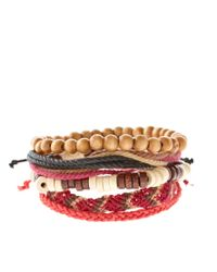 ASOS Collection - Multicolor Asos Apache Bracelet Pack for Men - Lyst