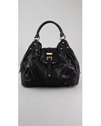Halston | Black Brandi Bag | Lyst