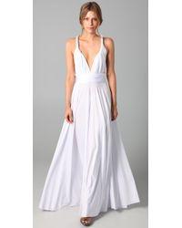 Twobirds - White Long Convertible Dress - Lyst