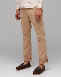 Life After Denim - Green Slim Fit Chino in Summer Weight in Khaki for Men - Lyst