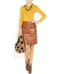Marc By Marc Jacobs | Yellow Empire Sweater | Lyst