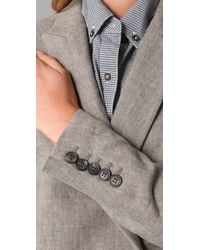 Boy by Band of Outsiders | Gray Military Jacket | Lyst