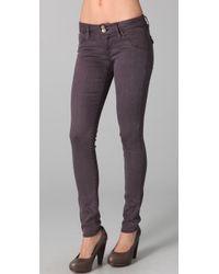 Hudson Jeans | Purple Collin Skinny Jean | Lyst