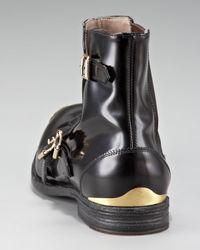 Alexander McQueen Black Monk-strap Boot for men