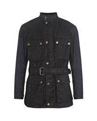 Belstaff   Black Roadmaster Jacket for Men   Lyst