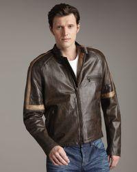 Belstaff | Black Hero Leather Jacket for Men | Lyst