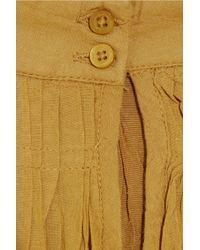 By Malene Birger - Yellow Coolco Crochet-trimmed Dress - Lyst