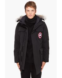 Canada Goose | Black Expedition Parka for Men | Lyst