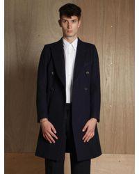 Dries Van Noten - Blue Mens Rayce Coat for Men - Lyst