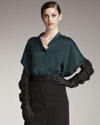 Haider Ackermann - Black Joni Long Leather Gloves - Lyst