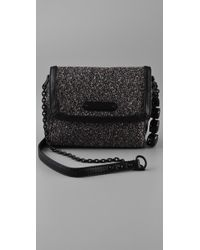 Juicy Couture | Black After Dark Metallic Tweed Mini Bag | Lyst