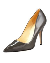 Kate Spade | Gray Licorice Pointed-Toe Pump | Lyst