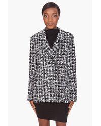 Lanvin | Gray Tweed Jacket | Lyst