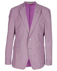 Moschino | Purple Classic Blazer for Men | Lyst