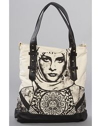 Obey | Black The Heritage Tote | Lyst