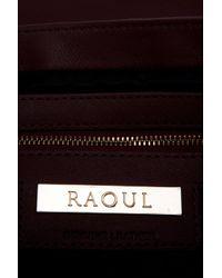 Raoul - Brown Jenny Envelope Clutch - Lyst