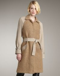 Sachin & Babi | Brown Gracie Combo Coat | Lyst