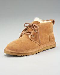 UGG | Brown Neumel Suede Desert Boot for Men | Lyst