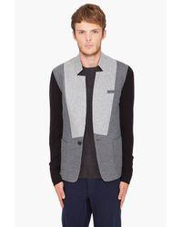 Yigal Azrouël - Gray Brushed Blazer for Men - Lyst