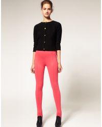 ASOS Collection - Pink Asos Ski Pant Leggings - Lyst