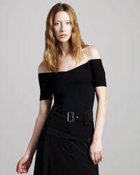 Vena Cava | Black Brandi Off-the-shoulder Top | Lyst