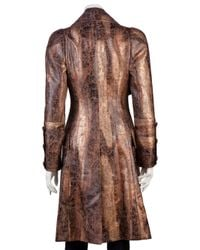 Vivienne Westwood Red Label - Brown Herringbone Coat - Lyst
