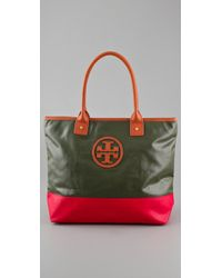 Tory Burch | Green Oliver Small Jaden Tote | Lyst