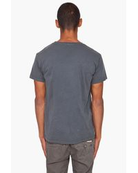 Cheap Monday | Gray Tor Printed X Tee for Men | Lyst