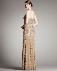 Robert Rodriguez Natural Isabella Gown, Camel