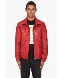 Billtornade - Red Loni Jacket for Men - Lyst