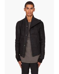 DRKSHDW by Rick Owens | Triple Black Jacket for Men | Lyst
