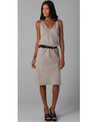 Elizabeth and James | Gray Marisol Wool Dress | Lyst