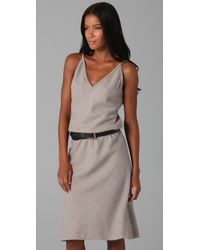 Elizabeth and James - Gray Marisol Wool Dress - Lyst