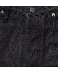 Maison Kitsuné - Blue Slub Denim Jeans for Men - Lyst