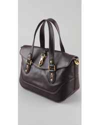 Marc By Marc Jacobs | Brown Voyage Satchel | Lyst