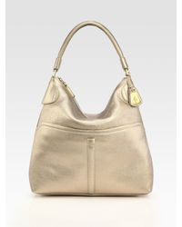 Cole Haan - Metallic Avery Medium Hobo Bag - Lyst