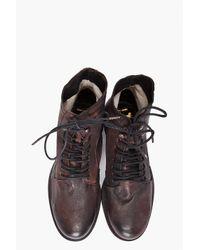 H by Hudson | Brown Dodger Boot for Men | Lyst