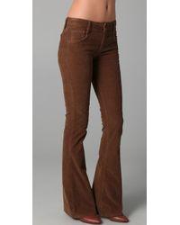 Joe's Jeans | Brown Visionaire Corduroy Pants | Lyst