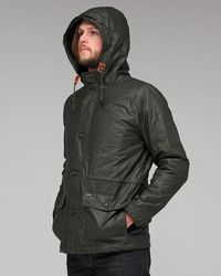 Obey | Green Shepard Sailing Parka for Men | Lyst