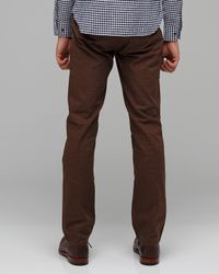 Obey - Brown Working Man Pant for Men - Lyst