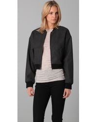 Cheap Monday - Black Bomb Jacket - Lyst